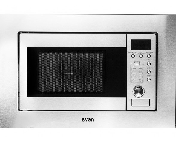 SVAN SVMW820EIA microondas Integrado Microondas con grill 20 L 800 W Acero inoxidable