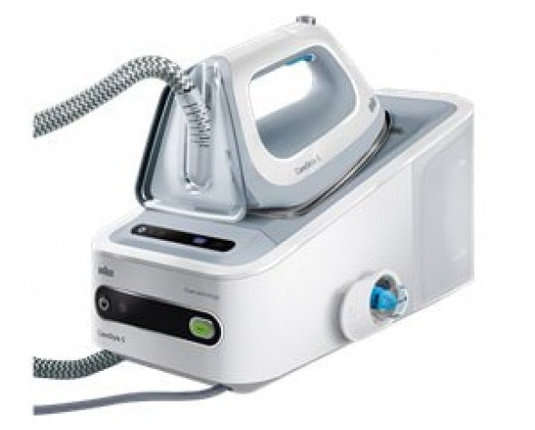 Braun Carestyle IS 5042 WH Easy 2400W 1.4L Eloxal soleplate Color blanco estación plancha al vapor