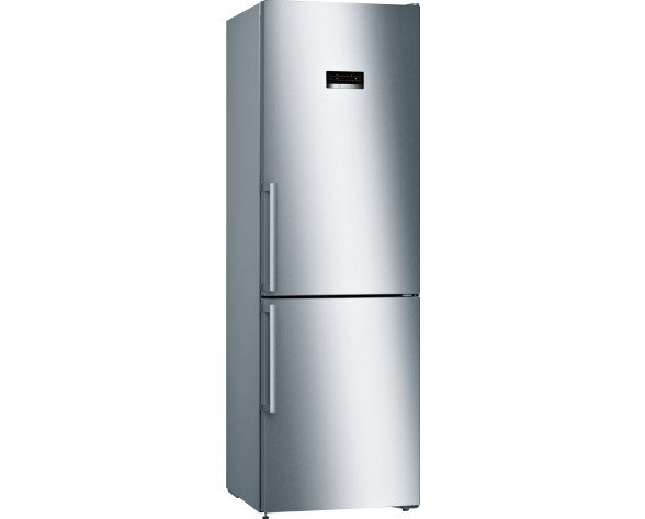 Bosch Serie 4 KGN36XL3P nevera y congelador Freestanding (placement) Acero inoxidable 324 L A++