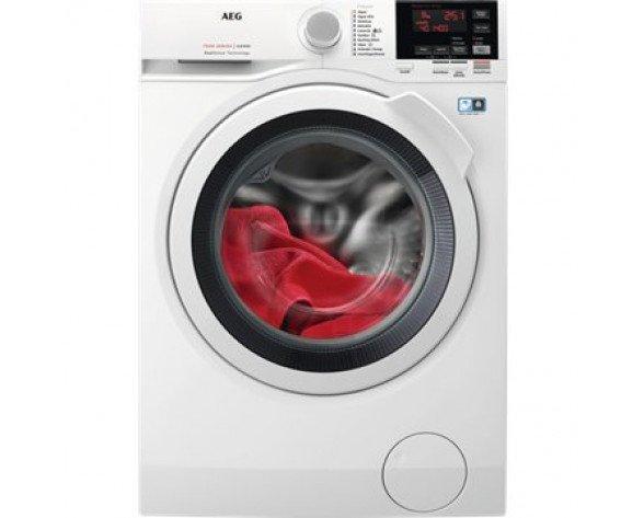 AEG L7WBG841 lavadora Carga frontal Freestanding (placement) Blanco A