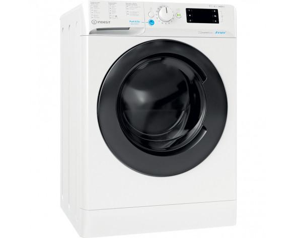 Indesit BDE 961483X WK SPT N lavadora-secadora Independiente Carga frontal Blanco D