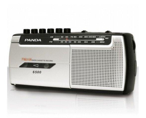 Daewoo DRP-107 radio Portátil Analógica Negro, Plata