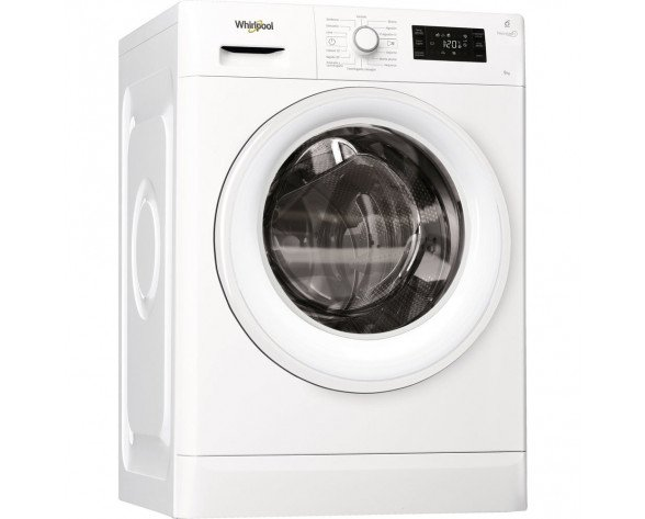 Whirlpool FWG91284W SP lavadora Independiente Carga frontal Blanco 9 kg 1200 RPM A+++