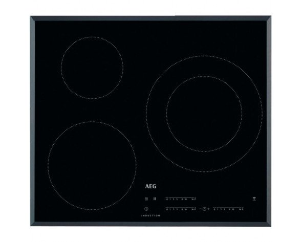 AEG IKB63402FB hobs Negro Built-in (placement) Con placa de inducción 3 zona(s)