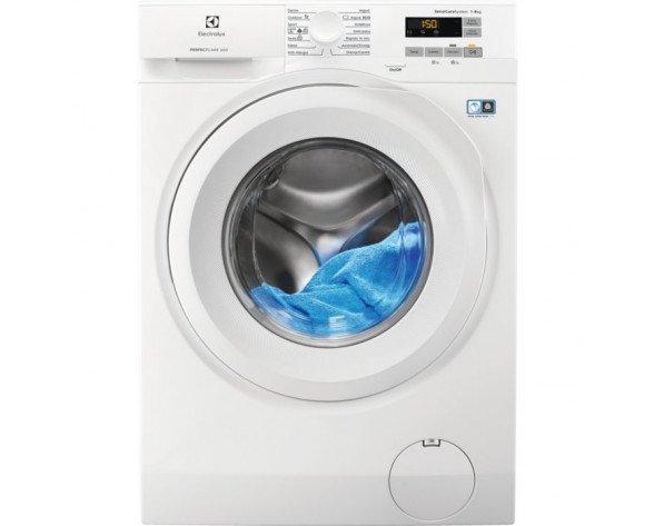 Electrolux EW6F5822BB lavadora Independiente Carga frontal Blanco 8 kg 1200 RPM A+++-20%