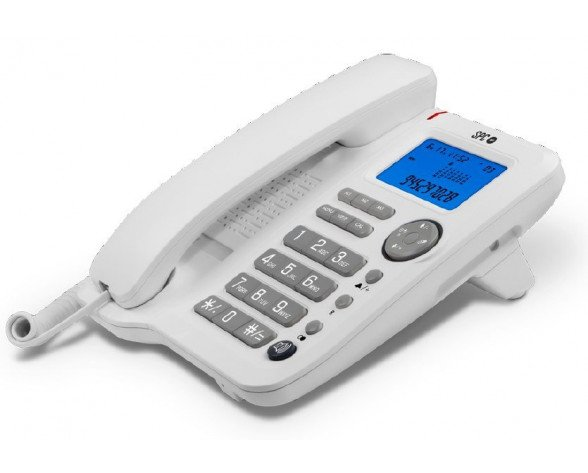 SPC Office ID Teléfono Blanco 3608B