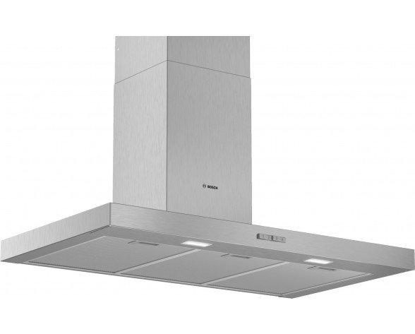 Bosch Serie 2 DWB96BC50 campana 590 m³/h De pared Acero inoxidable A