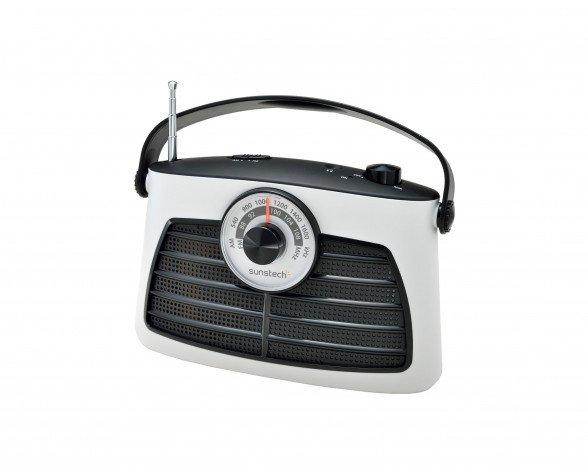 Sunstech RADIO TRANSISTOR AM/FM 1W WHITE