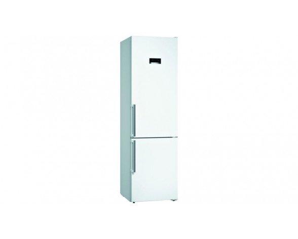 Bosch Serie 4 KGN39XWDP nevera y congelador Independiente 368 L D Blanco