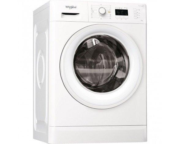Whirlpool FWL61252W EU lavadora Independiente Carga frontal Blanco 6 kg 1200 RPM A++