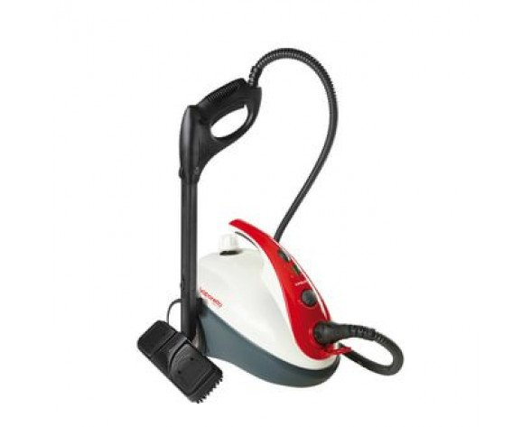 Polti Smart 30_R Cylinder steam cleaner 1.6L 1800W Negro, Rojo, Color blanco