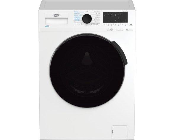 Beko HTV 7716 DSW BTR lavadora-secadora Independiente Carga frontal Blanco