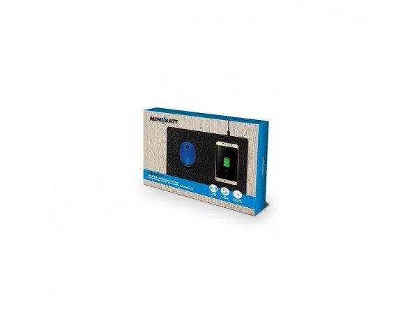 miniBatt MB-PAD cargador de dispositivo móvil Interior Negro