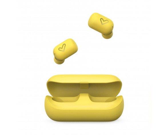 Energy Sistem Urban 4 auriculares para móvil Binaural Dentro de oído Amarillo
