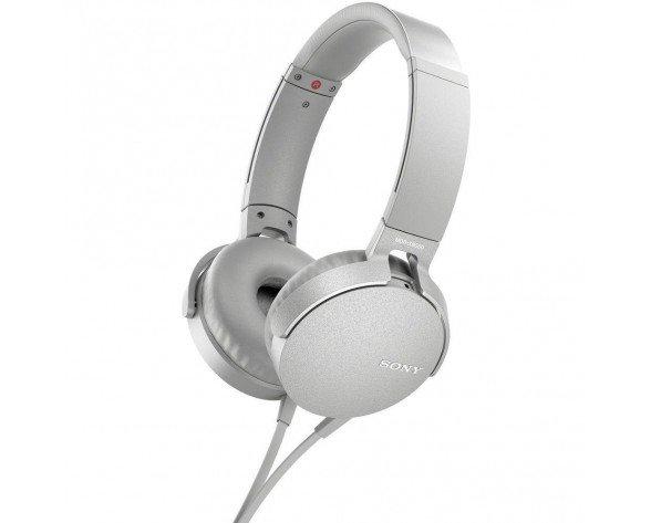 Sony MDR-XB550AP Auriculares Diadema Blanco