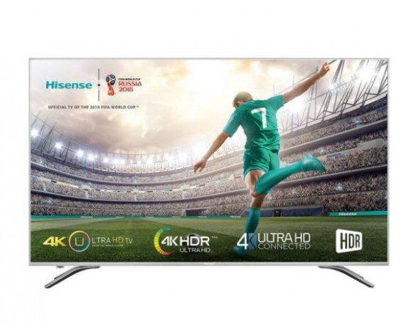 "Hisense H55A6500 TV 139,7 cm (55"") 4K Ultra HD Smart TV Wifi Plata"