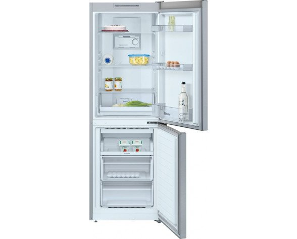 Balay 3KF6551MI nevera y congelador Freestanding (placement) Acero pulido 279 L A+