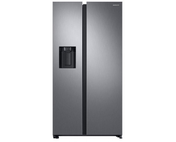 Samsung RS68N8220S9 nevera puerta lado a lado Freestanding (placement) Negro, Acero inoxidable 617 L A+