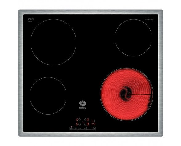 Balay 3EB720XR Integrado Eléctrico Negro hobs