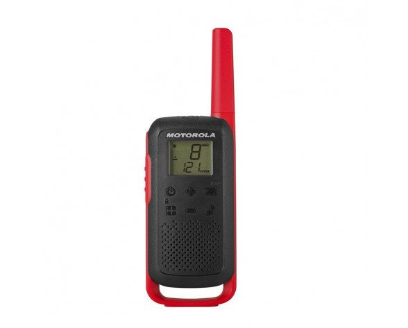 Motorola TALKABOUT T62 two-way radios 16 canales 12500 MHz Negro, Rojo
