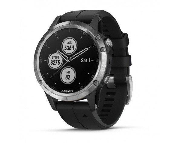 """Garmin fēnix 5 Plus reloj inteligente Plata 3,05 cm (1.2"""") GPS (satélite)"""
