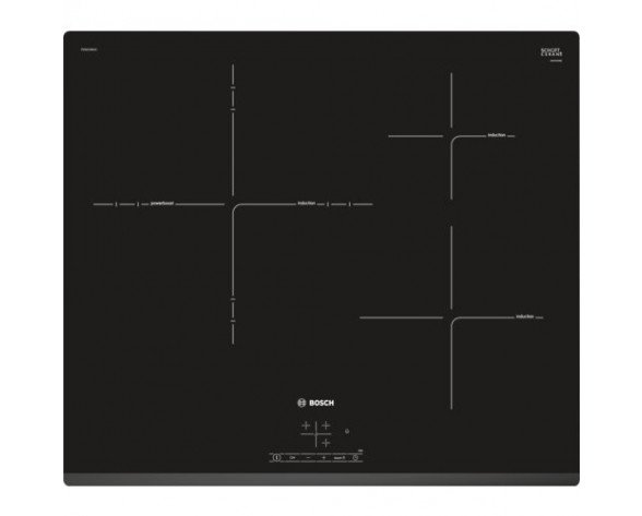 Bosch Serie 4 PID631BB1E hobs Negro Integrado Con placa de inducción 3 zona(s)