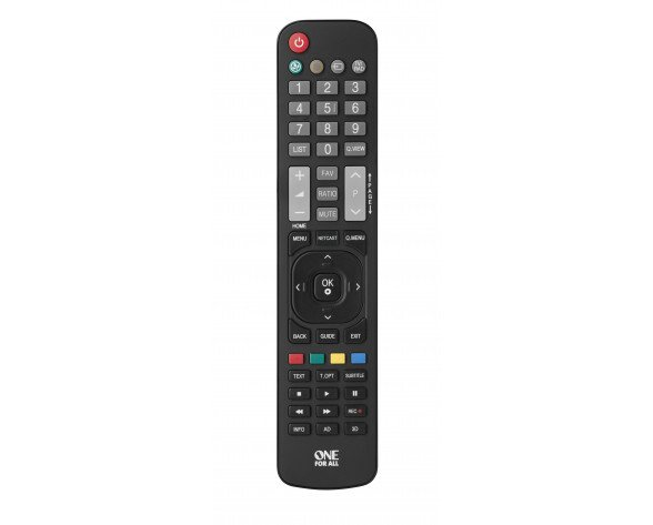 One For All URC 1911 mando a distancia IR inalámbrico TV Botones