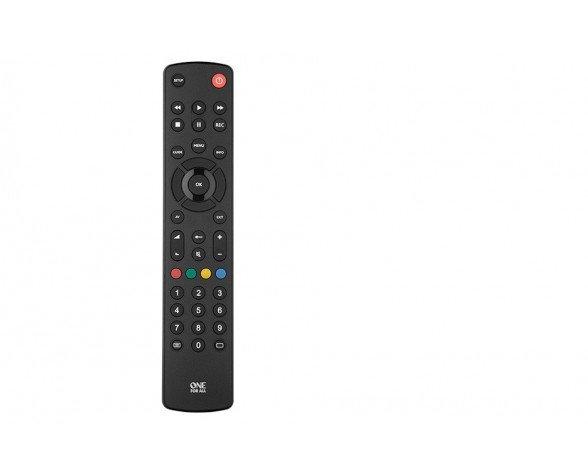 One For All Contour TV Botones Negro mando a distancia