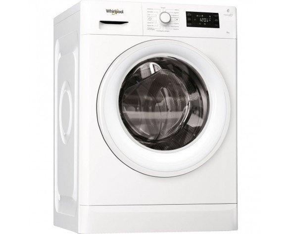 Whirlpool FWG81284W SP lavadora Independiente Carga frontal Blanco 8 kg 1200 RPM A+++-10%