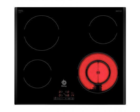 Balay 3EB721LR Integrado Eléctrico Negro hobs