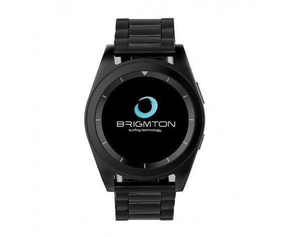 """Brigmton BWATCH-BT6 reloj inteligente Negro IPS 3,05 cm (1.2"""")"""