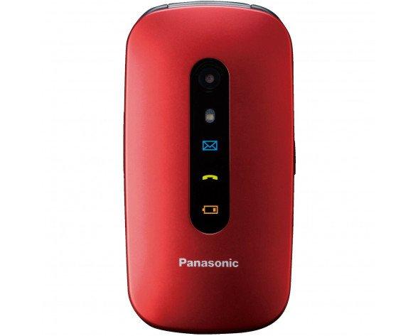 "Panasonic KX-TU456 6,1 cm (2.4"") 110 g Rojo Característica del teléfono"