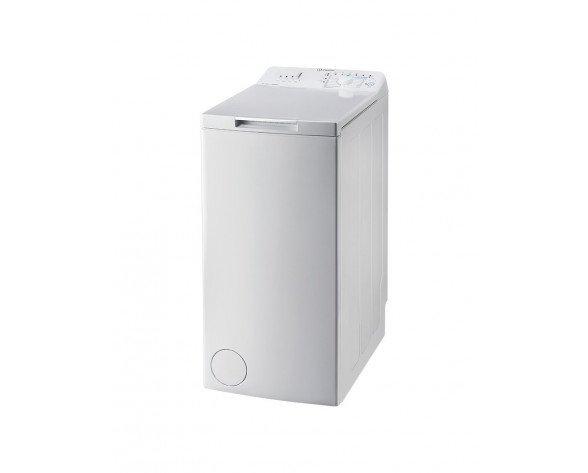 Indesit BTW A61052 (EU) lavadora Independiente Carga superior Blanco 6 kg 1000 RPM A++