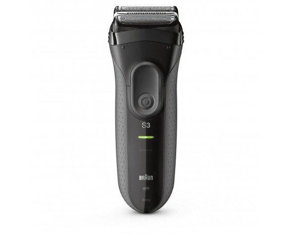 Braun Series 3 3000s afeitadora Máquina de afeitar de láminas Negro