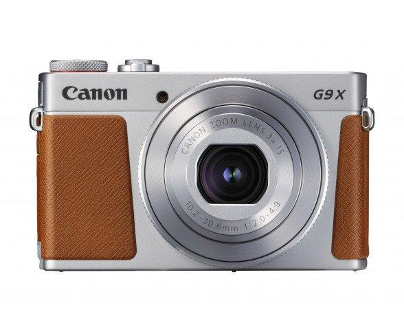 """Canon PowerShot G9 X Mark II Cámara compacta 20,1 MP CMOS 5472 x 3648 Pixeles 1"""" Marrón, Plata"""
