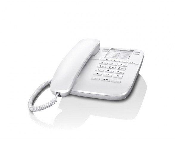 Teléfono fijo Gigaset DA410 Analógica Color blanco