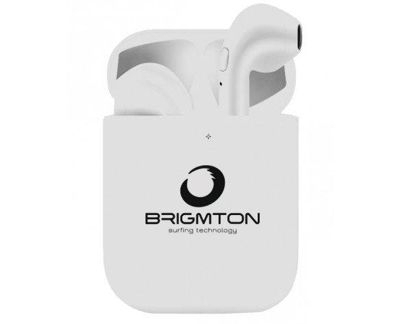 Brigmton BML-18-B auricular y casco Auriculares Dentro de oído Blanco