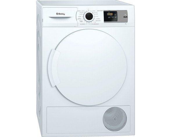 Balay 3SB286B secadora Independiente Carga frontal Blanco 8 kg A+