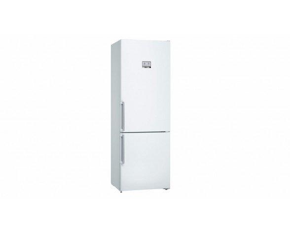Bosch Serie 6 KGN49AW3P nevera y congelador Independiente Acero inoxidable 435 L A++