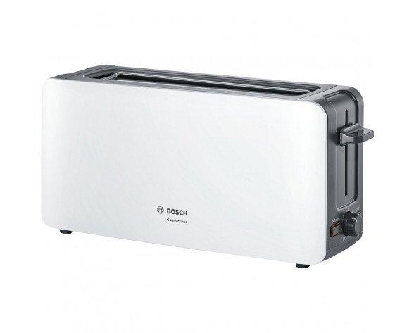 Bosch TAT6A001 tostadora Gris pardo, Blanco 1090 W