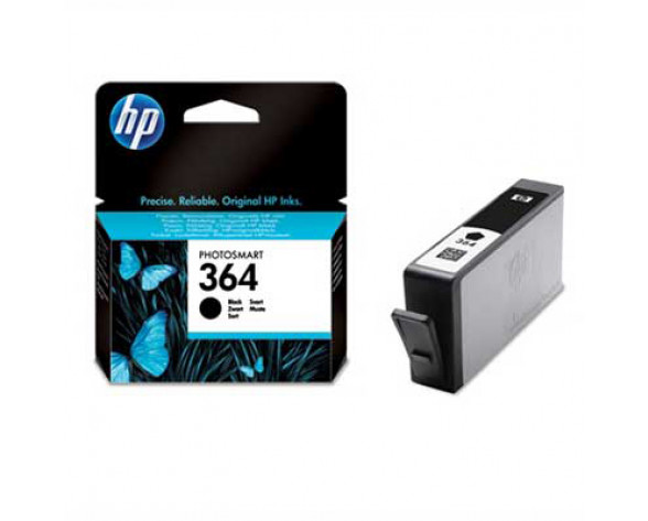 HP 364 cartucho de tinta 1 pieza(s) Original Rendimiento estándar Negro