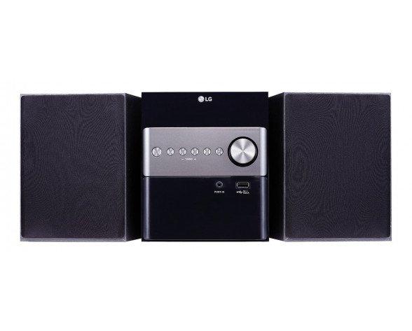 LG CM1560 sistema de audio para el hogar Microcadena de música para uso doméstico 10 W Negro