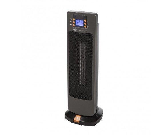 Soler & Palau TOWER-2000 PTC calefactor eléctrico Ventilador eléctrico Interior Negro 2000 W