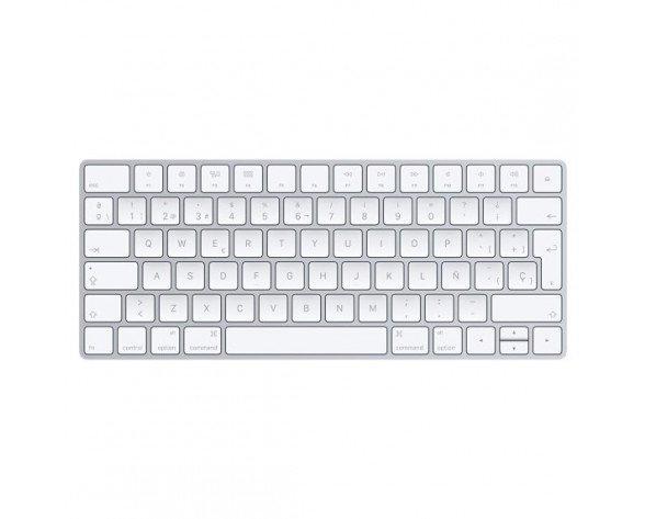 Apple Magic Bluetooth QWERTY Spanish White