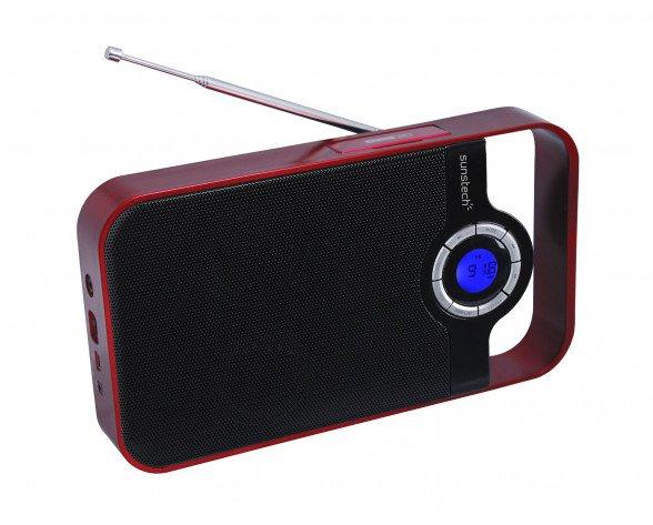 Sunstech RPDS250 Portátil Digital Rojo radio