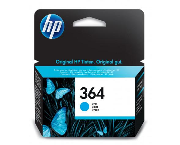 HP Cartucho de tinta original 364 cian