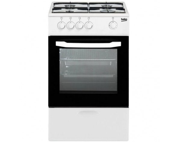 Beko CSG 42009 DW Independiente Gas hob Color blanco cocina