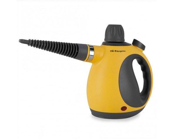 Orbegozo LV3580 limpiador a vapor Limpiador a vapor portátil 350 L Amarillo 1050 W