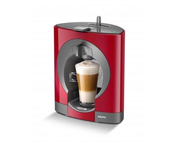 Krups Dolce Gusto OBLO Independiente Máquina de café en cápsulas 0.8L Rojo