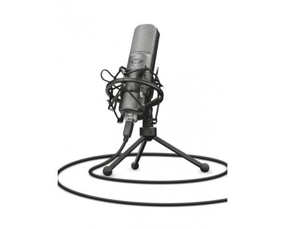 Trust GXT 242 Negro Micrófono de superficie para mesa
